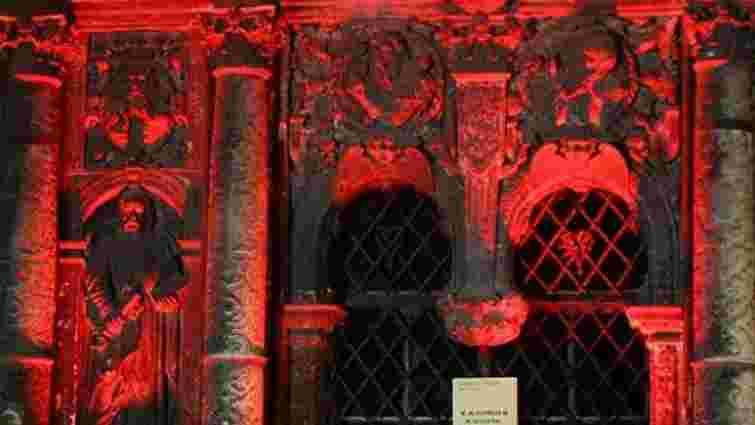 Сьогодні каплицю Боїмів у Львові підсвітять червоним