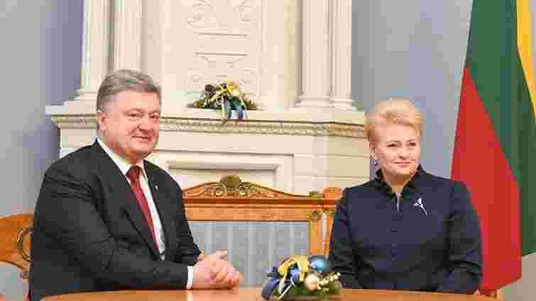 Президент Литви різко розкритикувала агресію Росії на Донбасі