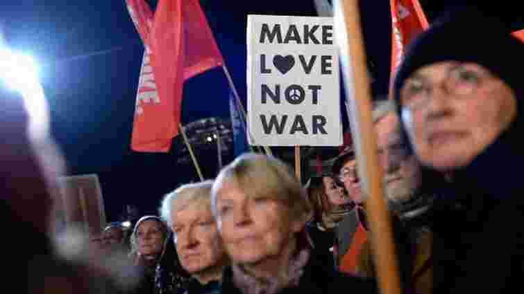 У Берліні протестували проти відправки військових у Сирію