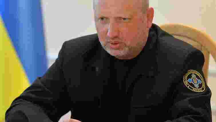 Турчинов не виключає, що Росія може вдатися до авіаударів у разі ескалації ситуації на Донбасі