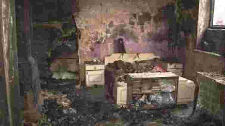 Через несправне пічне опалення у Львові горів житловий будинок