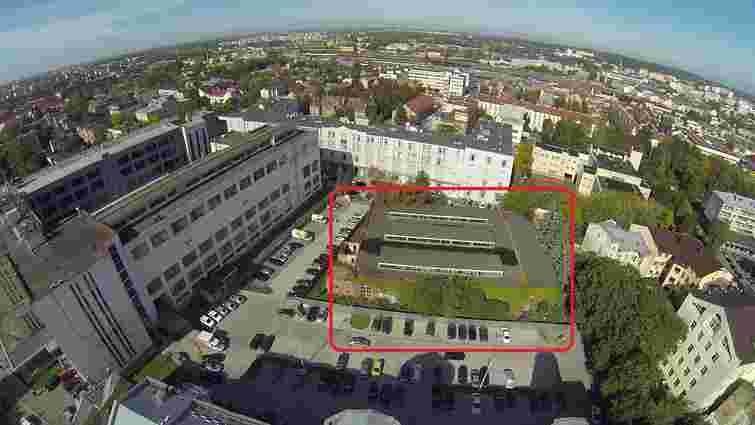 На території «Бізнес-сіті Технопарк» Віталія Антонова планують зробити івент-хол та коворкінг