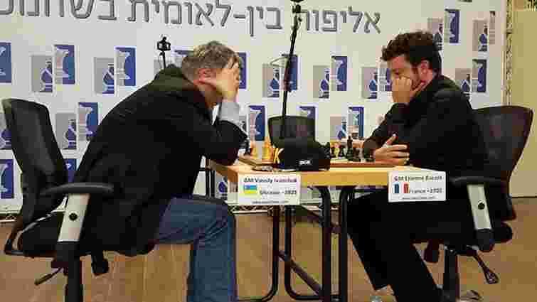 Львів'янин Василь Іванчук переміг у міжнародному шаховому турнірі в Ізраїлі