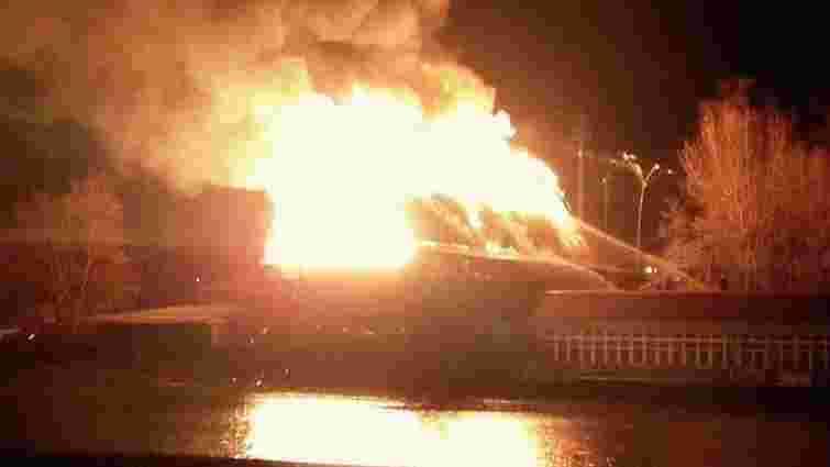 У Києві загорівся ресторан