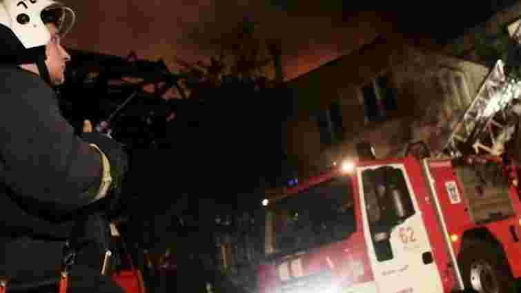 У Москві загорівся будинок культури МВС