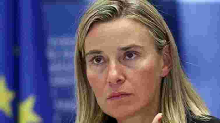 ЄС не скасує санкцій щодо Росії заради співпраці в Сирії, – Могеріні