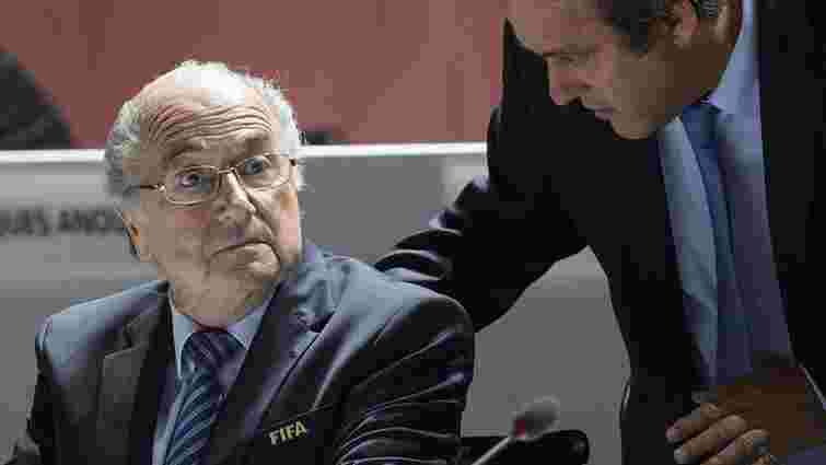 Президентів ФІФА та УЄФА відсторонили від футболу на 8 років