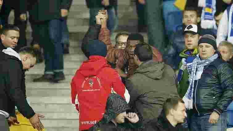 Один із нападників на темношкірих фанів під час матчу «Динамо» - «Челсі» визнав свою провину