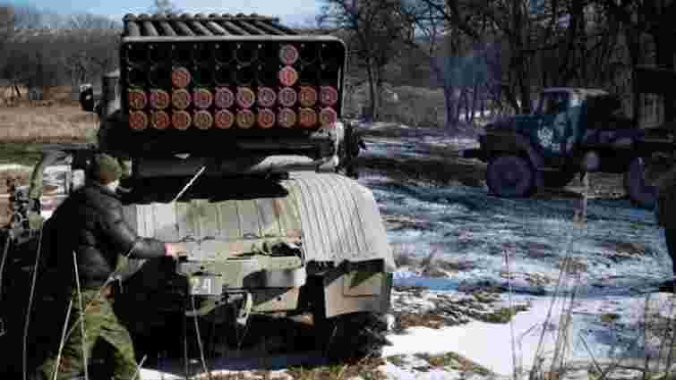 Терористи відкрили вогонь з «Градів» по позиціях ЗСУ біля Троїцького