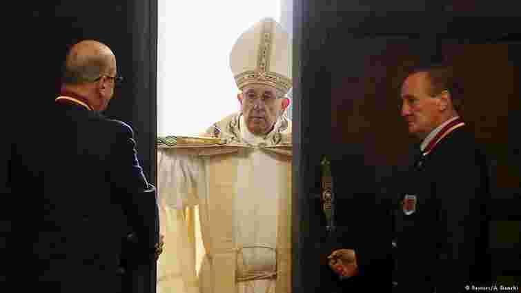 Папа Франциск став лауреатом Премії імені Карла Великого за 2016