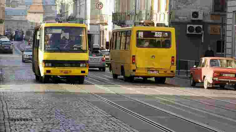 У  Львові пропонують запровадити систему, яка відстежуватиме львівські маршрутки онлайн