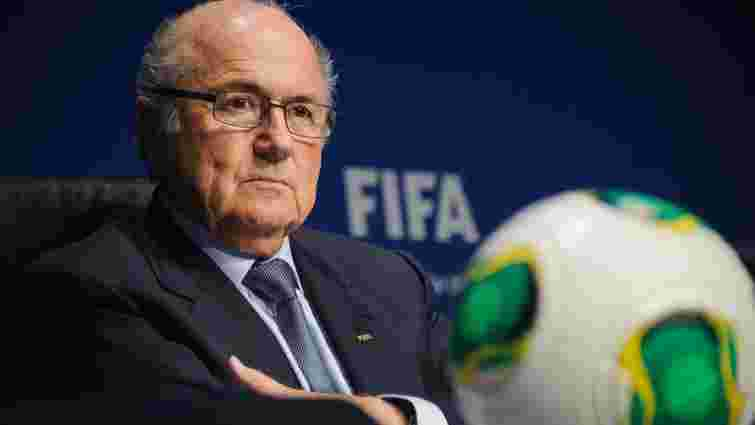 Відставка президента ФІФА очолила рейтинг кар'єрних падінь 2015 року