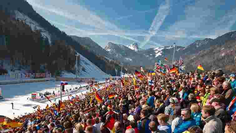 Наступний етап Кубка світу з біатлону перенесли до німецького Рупольдингу