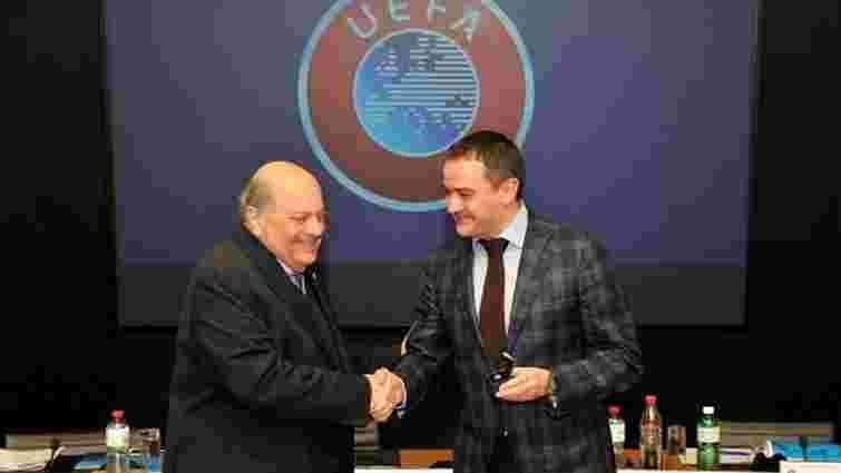 Голова ФФУ став заступником голови комітету УЄФА