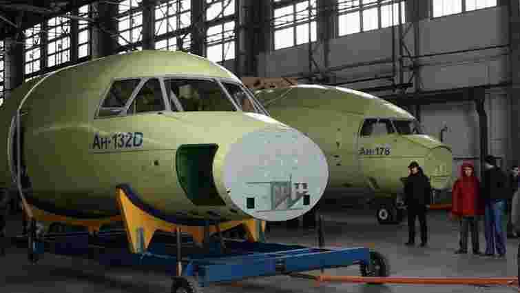 «Антонов» завершив дослідне збирання транспортного літака Ан-178 і легкого Ан-132
