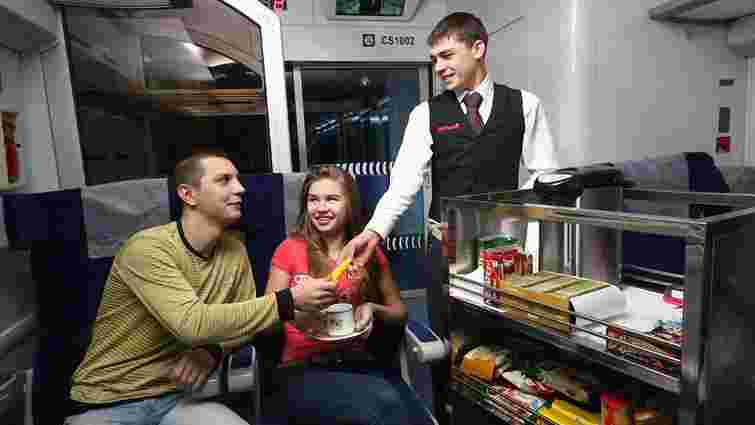 """Для потягів """"Інтерсіті"""" шукають фірму, яка годуватиме пасажирів"""