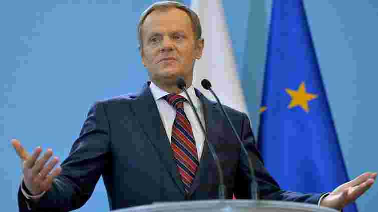 Туск заявив, що міграційна криза загрожує розпадом Шенгенської зони