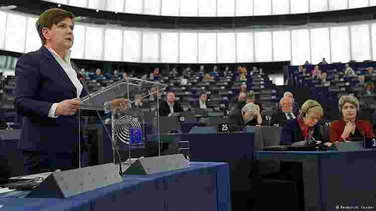 Польський уряд відкинув критику ЄС щодо останніх реформ в РП
