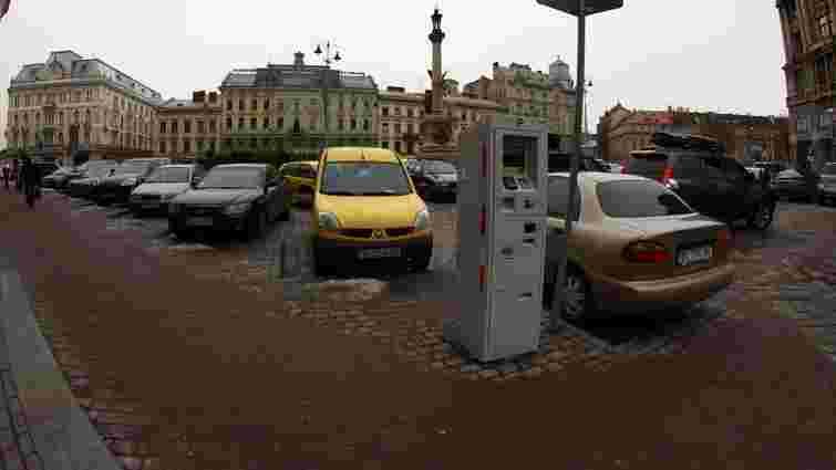 Вартість парковки у центрі Львова зросте до ₴10/год