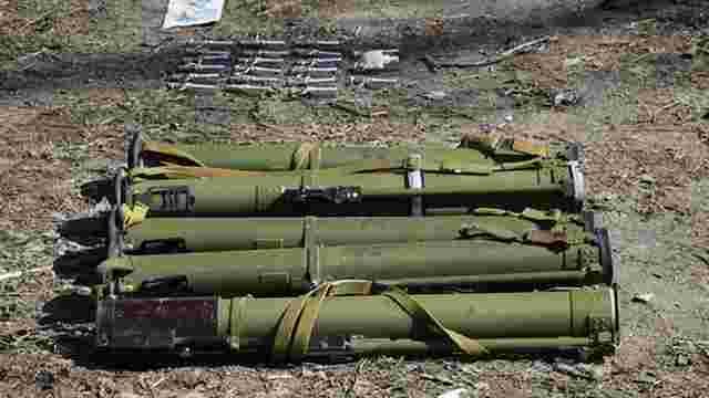 За місяць на Донеччині вилучили 27 гранатометів