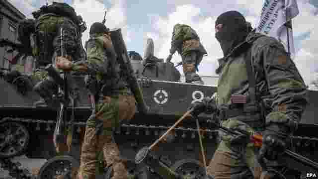 Бойовики обстріляли позиції сил АТО, демонструючи російським офіцерам свою підготовку