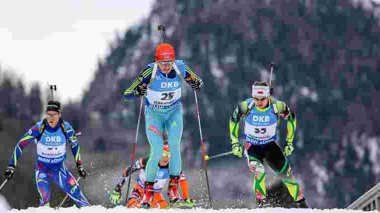 Двоє українських біатлоністів фінішували у першій двадцятці під час спринту у Кенморі