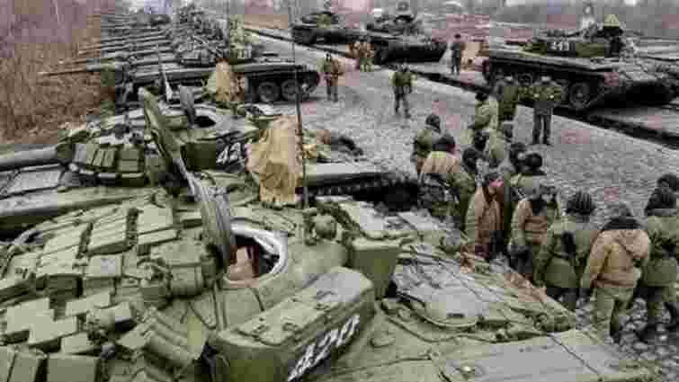 Росія перевела в повну бойову готовність війська біля кордону з Україною