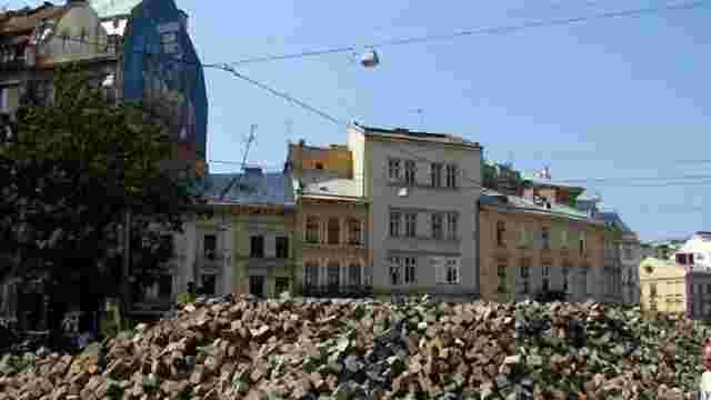 Інтерактивна карта ремонтів доріг і будинків Львова
