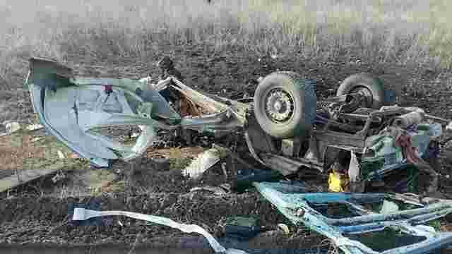Кількість жертв підриву мікроавтобуса на Донеччині збільшилася до чотирьох