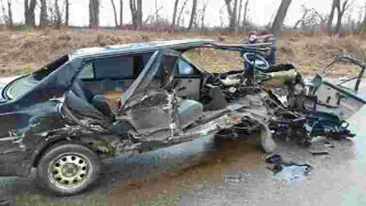 В аварії поблизу Львова постраждали троє людей, серед яких річна дитина
