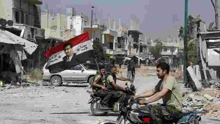 Сторони сирійського конфлікту домовилися про припинення вогню