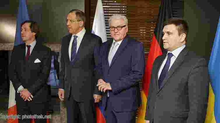 У Німеччині розпочалася зустріч глав МЗС «нормандської четвірки»