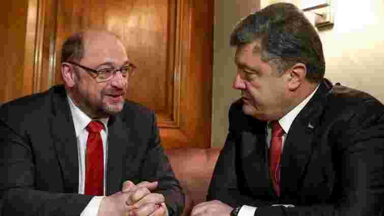 Європарламент не зволікатиме з безвізовим режимом для України, – Шульц