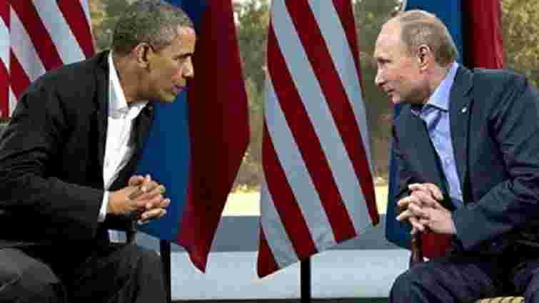 Барак Обама і Володимир Путін обговорили ситуацію в Україні