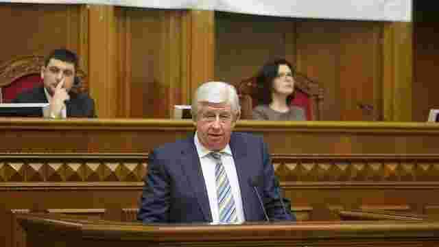 Порошенко вніс до парламенту подання на звільнення Шокіна