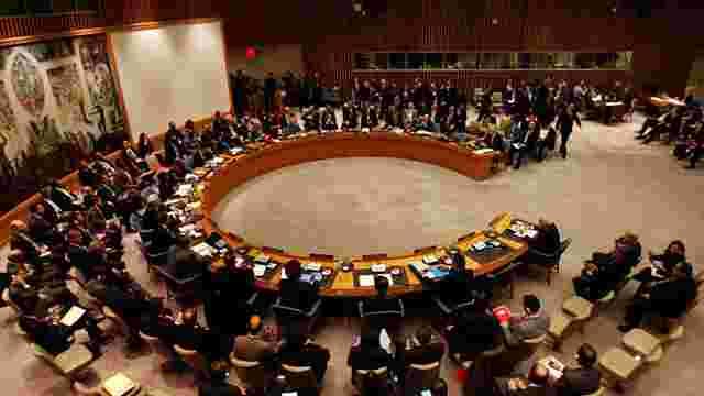Рада Безпеки ООН не підтримала російський проект резолюції щодо Сирії