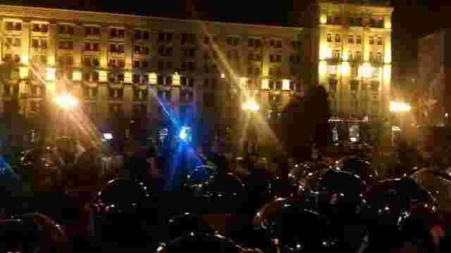 На Майдані виник конфлікт між активістами і поліцією