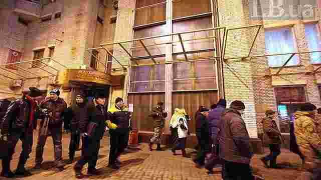 Активісти РПС переїхали з готелю на Майдані до казарм «Азову»