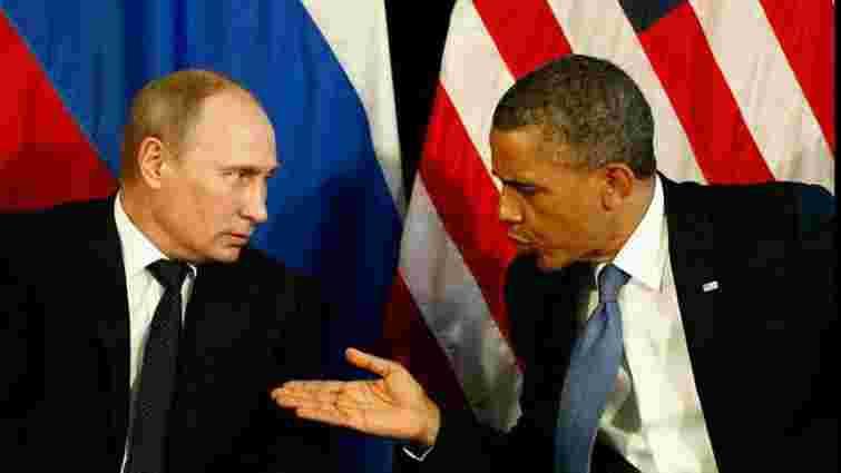 Обама і Путін обговорили ситуацію на Донбасі