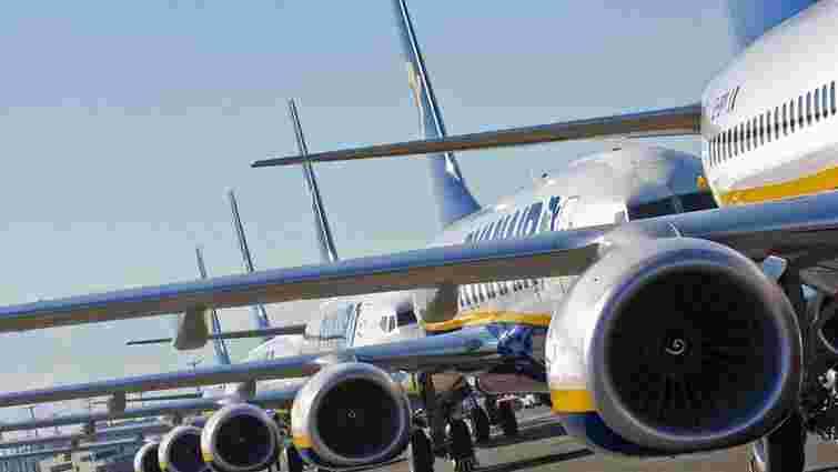 Державіаслужба оприлюднила інтерактивну карту з маршрутами українських авіакомпаній