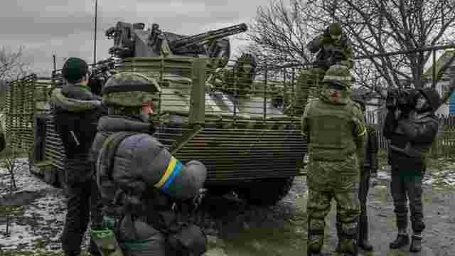 Українські розвідники повернули з Широкиного БТР «Азову»
