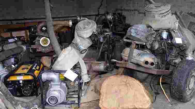 Нацгвардія припинила масовий видобуток бурштину в Олевському районі Житомирщини