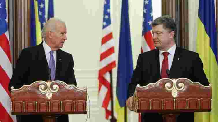 Порошенко і Байден домовилися про третій транш для України в $1 млрд