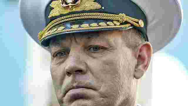 Порошенко звільнив Гайдука з посади командувача ВМС