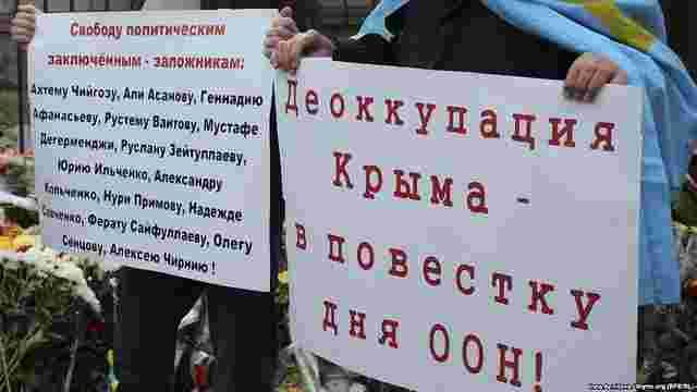В анексованому Криму арештували двох кримських татар