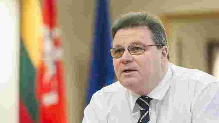 Голова МЗС Литви сподівається на безвізовий режим для України до кінця літа