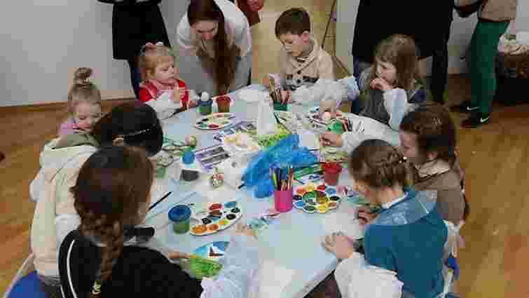 У Львові діти малювали «пташині писанки»