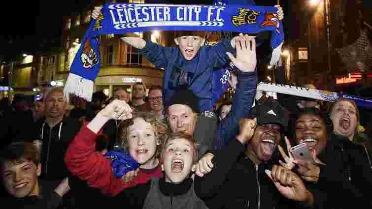 ФК «Лестер» вперше в історії став чемпіоном Англії
