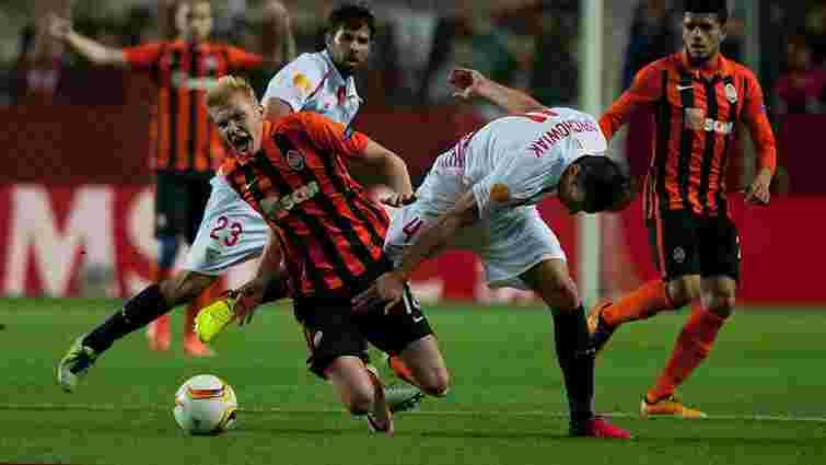 Донецький «Шахтар» не зміг вийти у фінал Ліги Європи