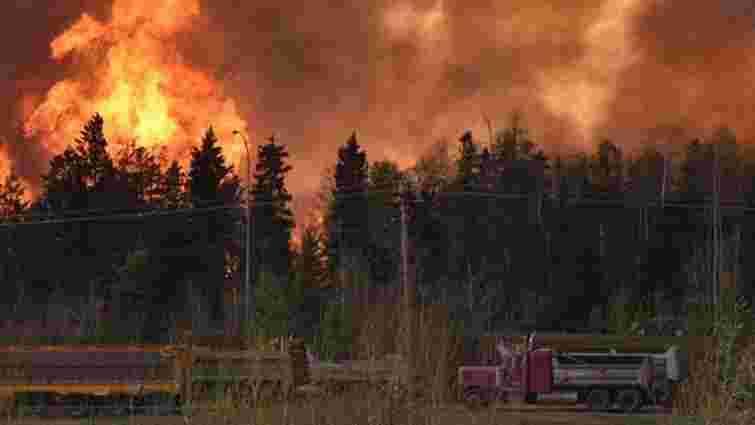 У Канаді пожежі охопили 85 тис. га лісів